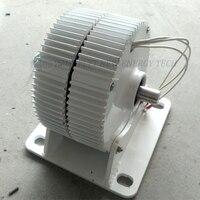 400w/500w/600w 12v/24v/48v ac low speed permanent magnet alternator with base
