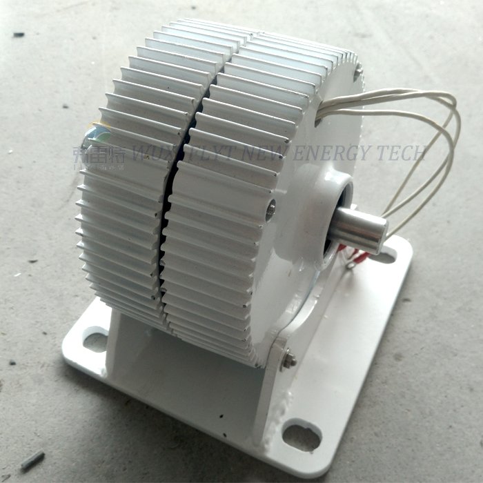400w/500w/600w 12v/24v/48v ac low speed permanent magnet alternator with base