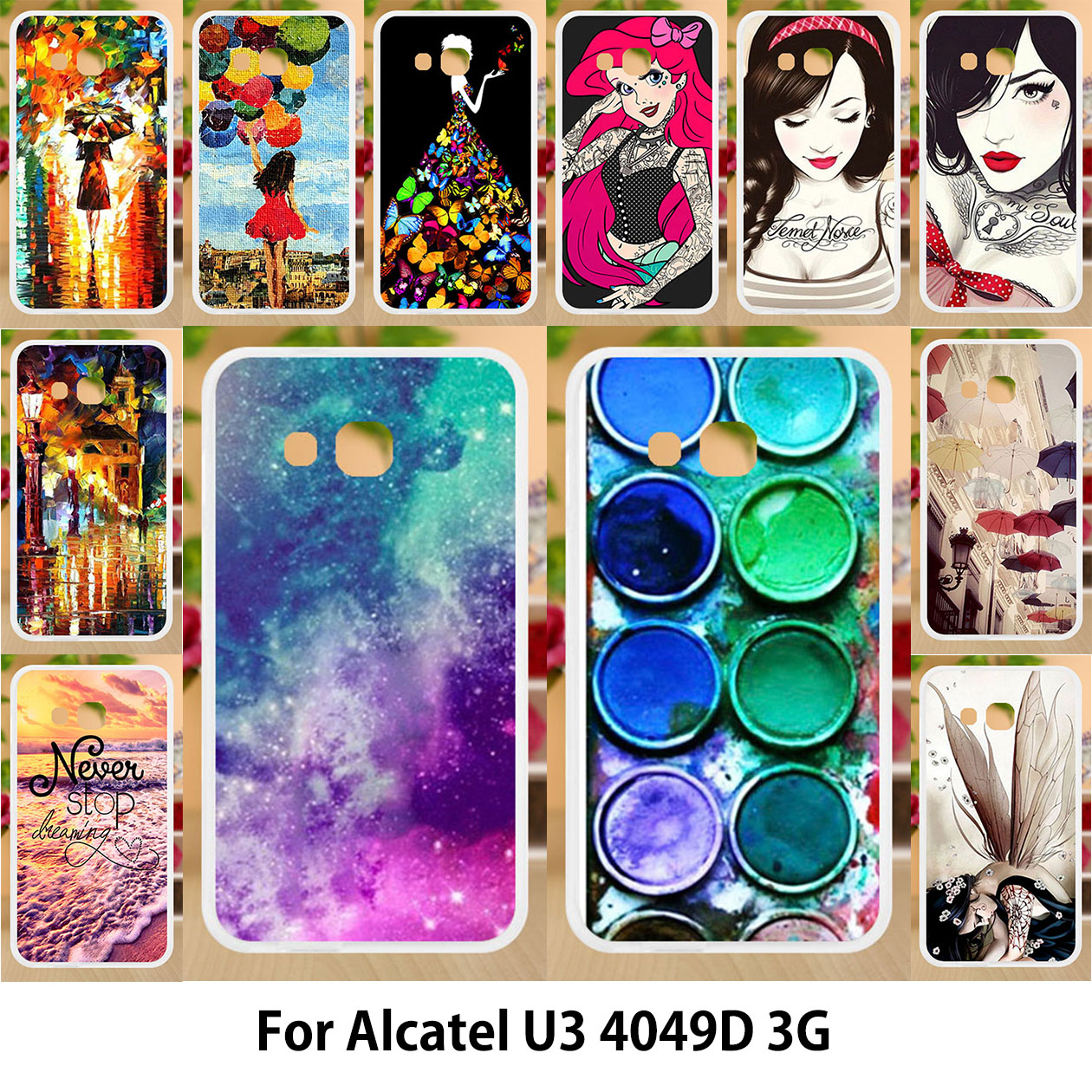 promo code 382ed b9d5a Negozio di sconti online,Alcatel U3 Phone Case Girls