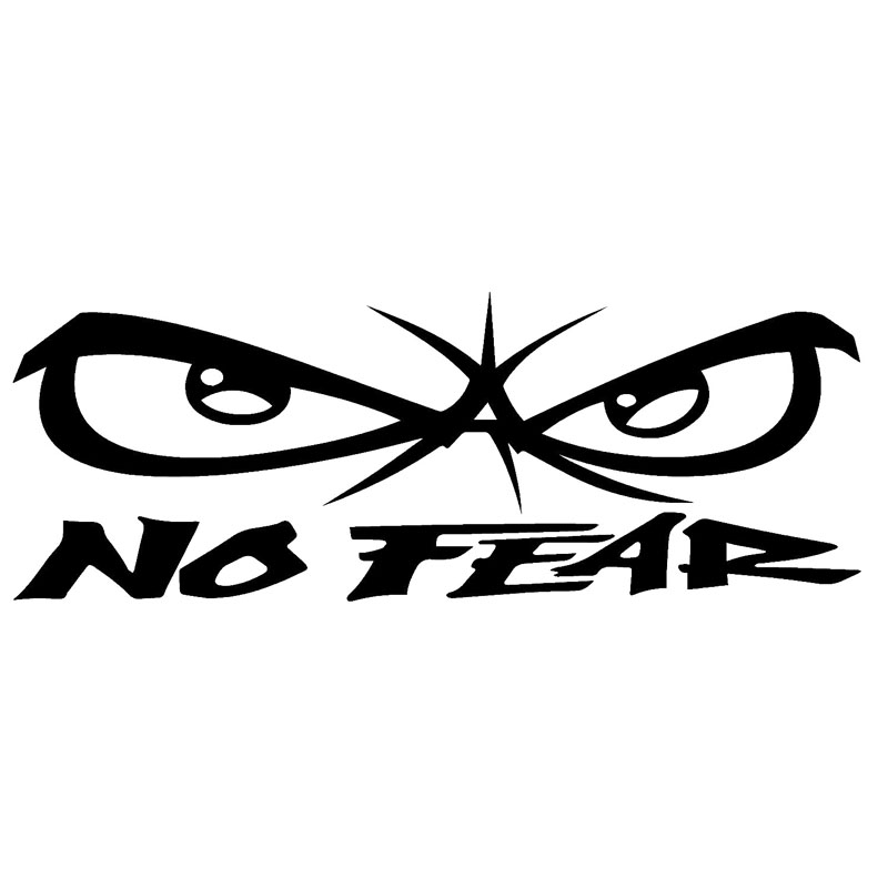 FEAR THIS WINDOW DECAL STICKER