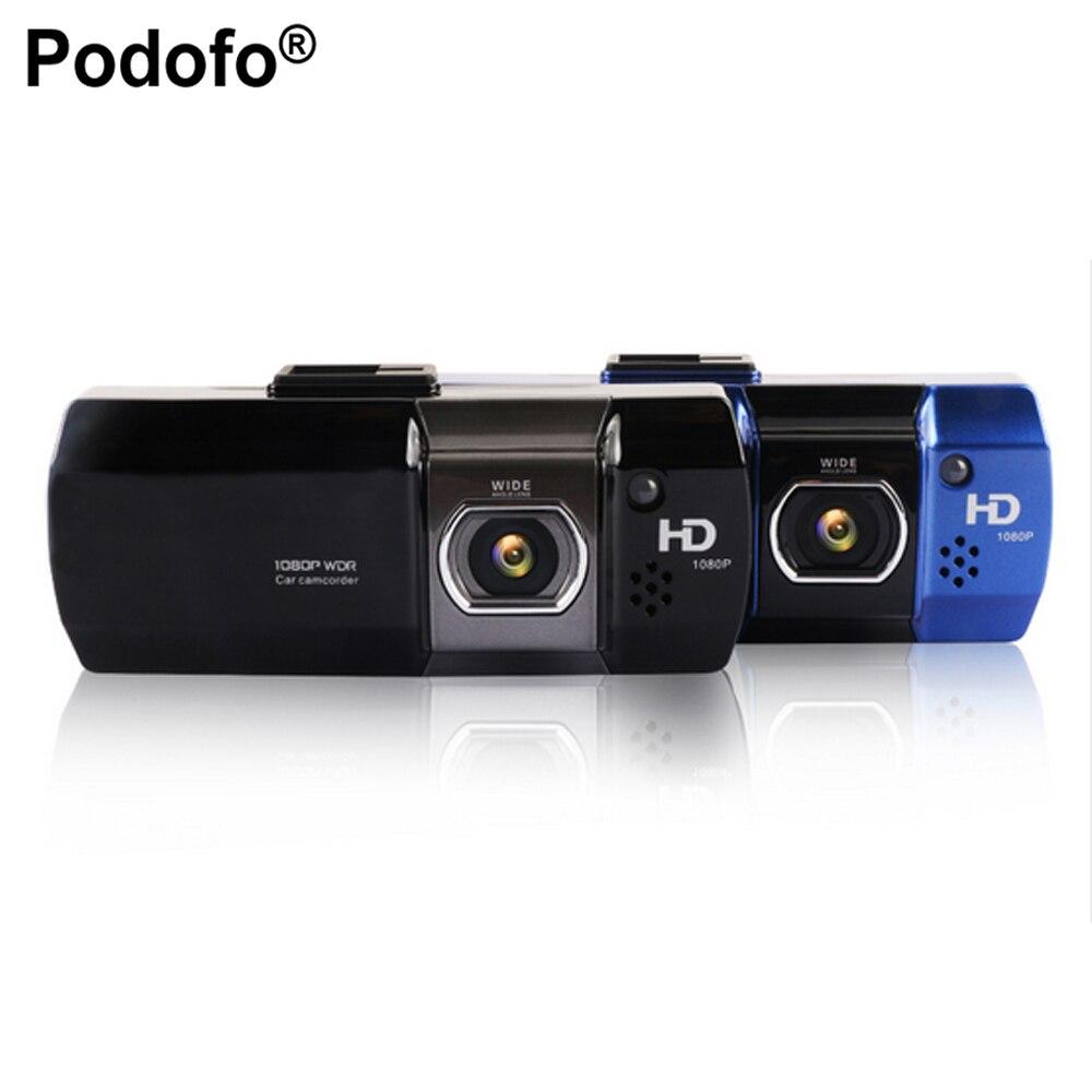 Podofo Новатэк 96650 Видеорегистраторы для автомобилей Камера AT500 видеорегистраторы Full HD 1080 P видео регистратор Регистраторы HDR g-сенсор Ночное ви...
