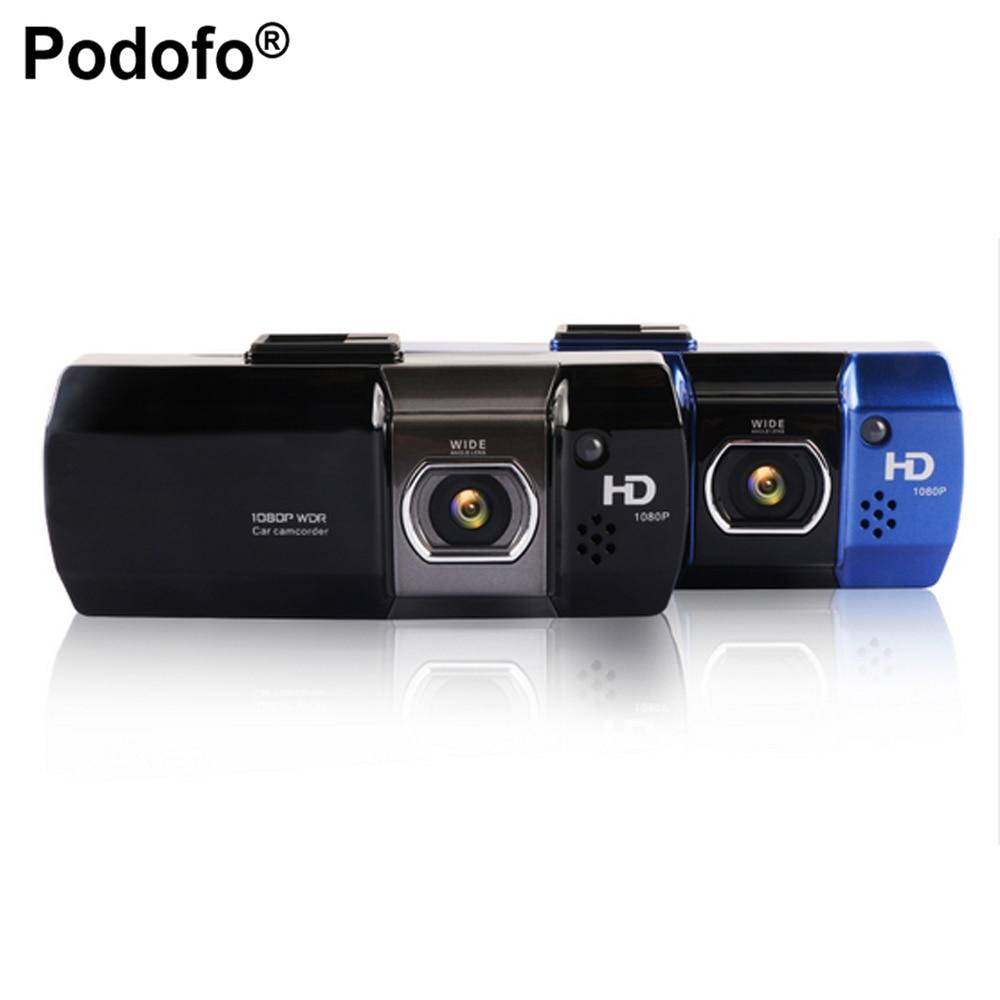 Podofo Novatek 96650 Car DVR font b Camera b font AT500 DVRS Full HD 1080P Video