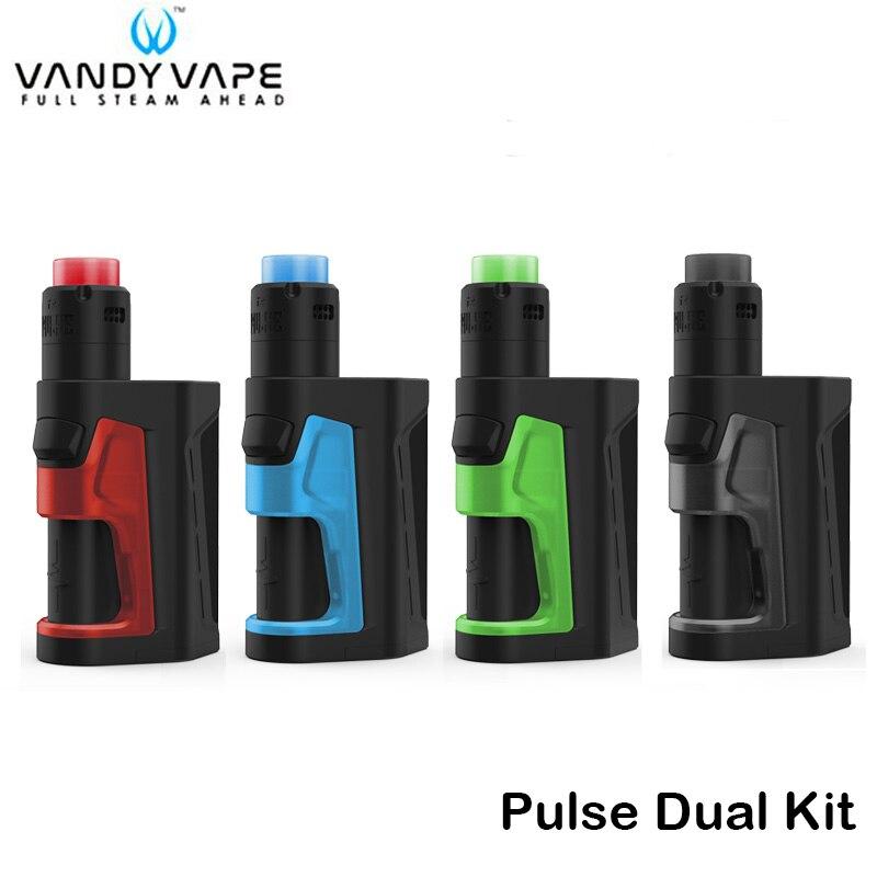 Original Vandy Vape Pulse Dual Kit Pulse Dual Box Mod Vape 200W With Pulse V2 RDA