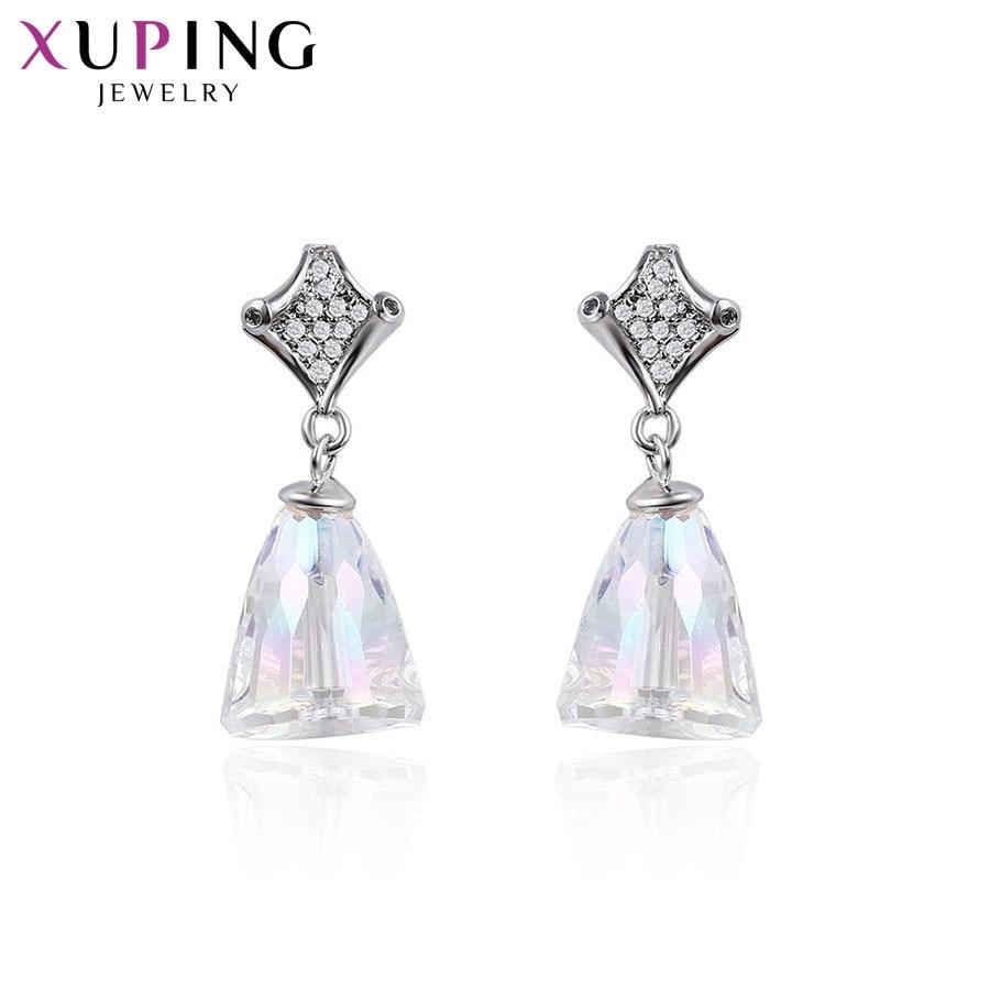 Xuping Simple étoile forme Design clous d'oreilles cristaux de Swarovski bijoux de mode cadeau de Thanksgiving pour les femmes S143.5-94265