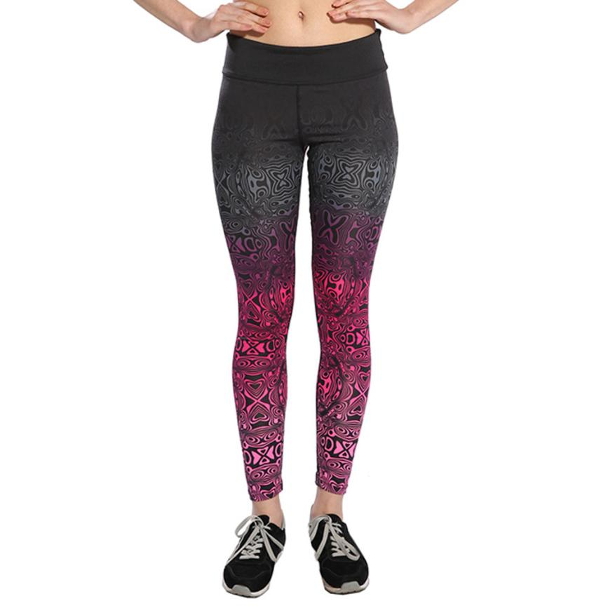 Mooistar #W003 Women High Waist Fitness Leggings Pants Trouser