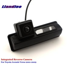 Liandlee For Toyota Avensis Verso 2001-2009 Car Rear View Backup Parking Camera Reverse Camera / SONY CCD HD Integrated new high quality rear view backup camera parking assist camera for toyota 86790 42030 8679042030
