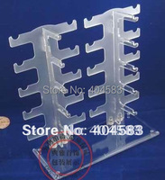 Sunglasses Display Stand Holder Rack Detachable Glasses Stand Display Up To 10 Pairs Transparent Blue White