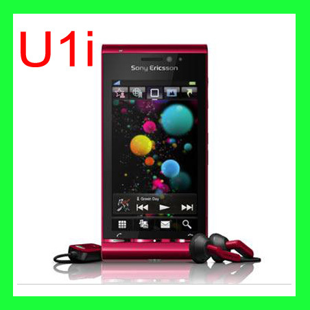 U1 Original Sony Ericsson U1i Satio Mobile Phone Unlocked 3G 12MP Wifi GPS Touchscreen 0ne year
