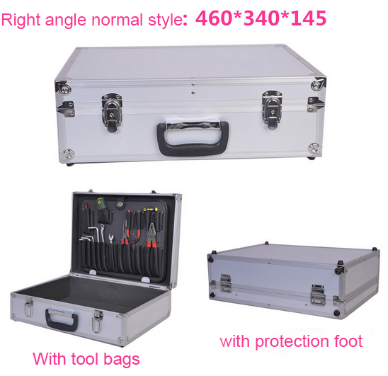 Aluminum alloy toolbox large suitcase Multifunction Shockproof aluminum case Incorporated Model box Instrument box Equipment box in Tool Cases from Tools