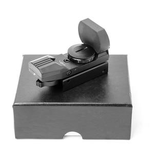 Image 2 - Riflescope 20mm רכבת הולוגרפי אדום Dot Sight 4 Reticle טקטי היקף Collimator האופטי sight ציד Airsoft אופטיקה