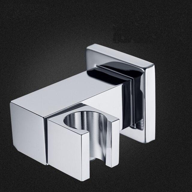 Messing koperen badkamer douchekop houder Verstelbare hoek douche ...