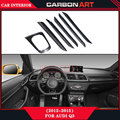 Glossy Black Car Carbon Fiber Car Accessories Interior decoreation trims for audi Q3 2012 2013 2014 2015