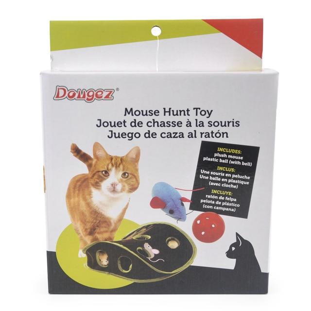 Pet brinquedos Do Gato Brinquedos Educativos Puzzle Buraco de Rato Captura Gato Engraçado Bola Sinos Pet Gato Suprimentos Brinquedo Criativo Para Gatos