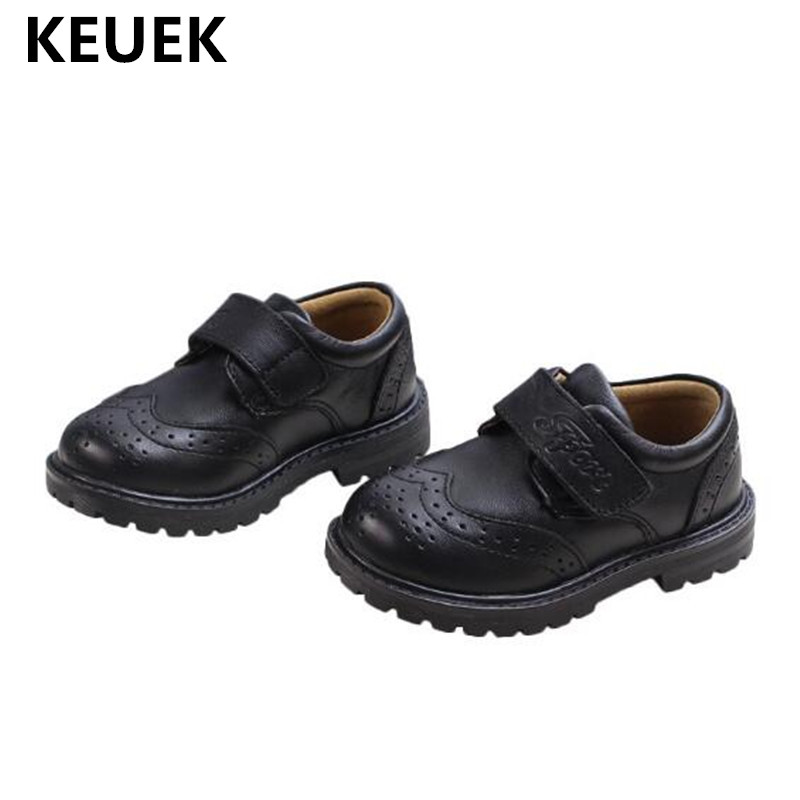 New Children Leather Shoes Baby Toddler Flats Breathable Genuine Leather Boys Girls Moccasins Kids Shoes Size 21 37  04|Leather Shoes| |  - title=