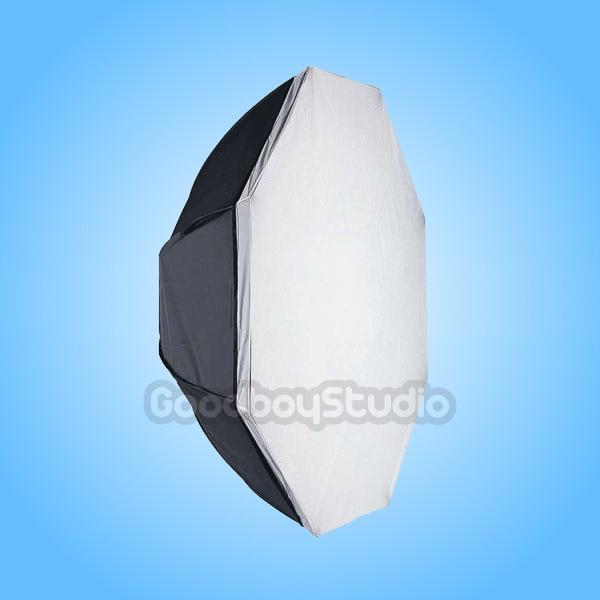Octagon Softbox 120 cm 48 w/Speedring Monte per White Lightning Strobe FlashOctagon Softbox 120 cm 48 w/Speedring Monte per White Lightning Strobe Flash