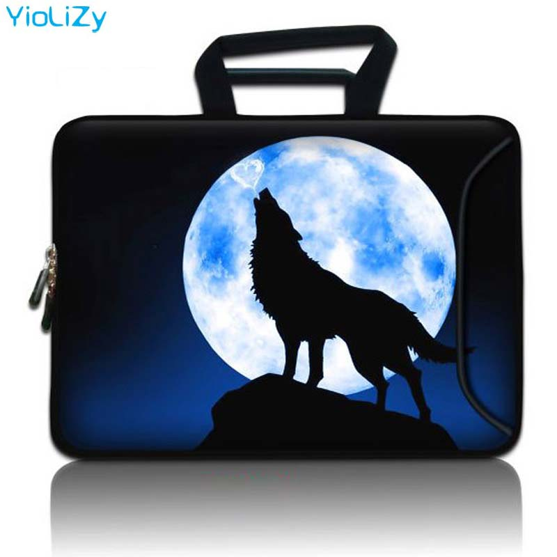 Wolf Laptop Bag Protective Case Notebook Sleeve Computer Cover 9.7 11 13 13.3 14 15 17 Inch For Macbook Air Pro Retina SBP-5084