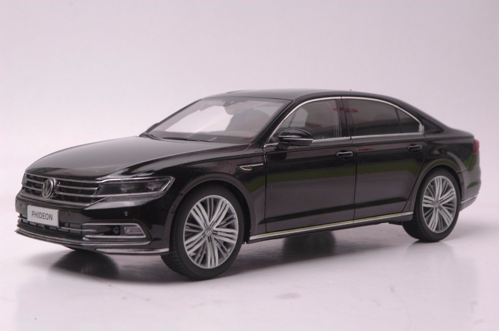 1:18 Diecast Model for Volkswagen VW Phideon 2016 Black Alloy Toy Car Miniature Collection Gift 1 18 масштаб vw volkswagen новый tiguan l 2017 оранжевый diecast модель автомобиля