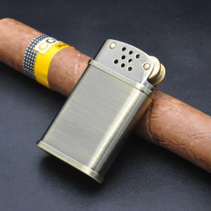 ZORRO Gas Kerosine Lichter Benzine Olie ouderwetse Koperen Aansteker Winddicht Retro Vintage Stijl Classic Sigaret Box Mannen Gift
