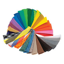 """8meters of 1/4"""" Braided Expandable Sleeving PET High density Flexo braided for RC Car Quadcopter Wiring free shipping"""