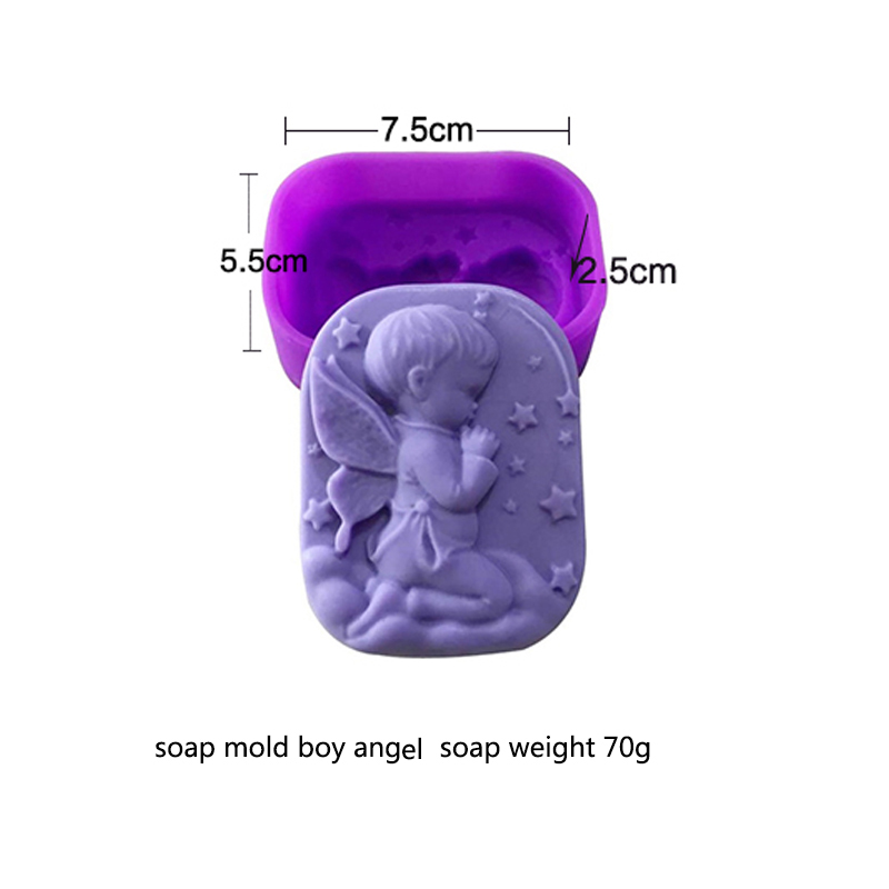 Image 4 - 100% Handmade DIY Silicone Soap Mold Soap Making 3D Oval Rectangle Soap Mould Craft Flowers Bathroom Kitchen Soap Mold-in Soap Molds from Home & Garden