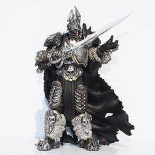 Fall of The Lich King Arthas Menethil 17.5cm PVC Action Figures Toy Model Gift(China)