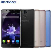 Original Blackview P2 Cell Phone 4GB RAM 64GB ROM MT6750T Octa Core 5.5 inch FHD Android 6.0 6000mAh Camera 13MP+8MP Smartphone