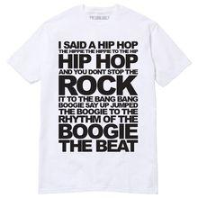 Los raperos placer T camiseta Sugarhill Gang Classic Hip Hop Breakdance DJ  80 s(China a08705203b4