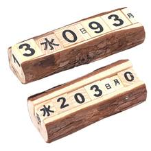 Compare Prices On Perpetual Calendar Wood Online Shoppingbuy Low