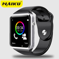 NAIKU Bluetooth Smart Watch NK1 With Camera Facebook Whatsapp Twitter Sync SMS Smartwatch Support SIM TF