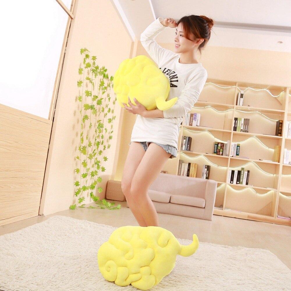 55*35 cm Dragon Ball Singe Roi de Nuage Saut Périlleux En Peluche Oreiller En Peluche Jouets Pour Les Fans
