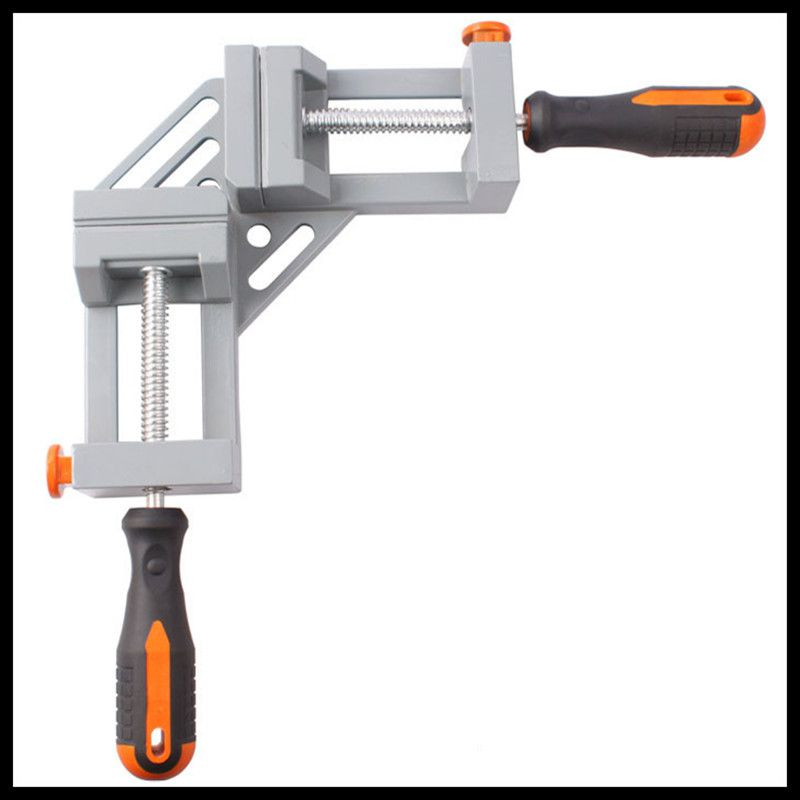 Double handle 90 degrees right angle clip fast angle clip woodworking fixture. workpiece holding fixture fast fixture fast fixture clamp bolt 431 with self locking quick clip