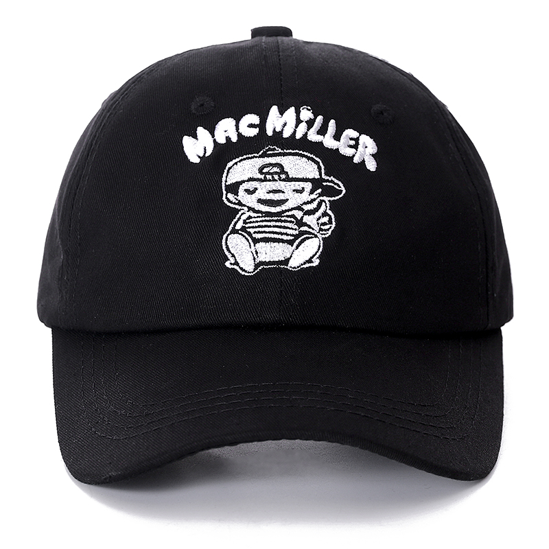 Mac Miller Snapback   Cap   Cotton   Baseball     Cap   For Men Women Adjustable Hip Hop Dad Hat Bone Garros Casquette