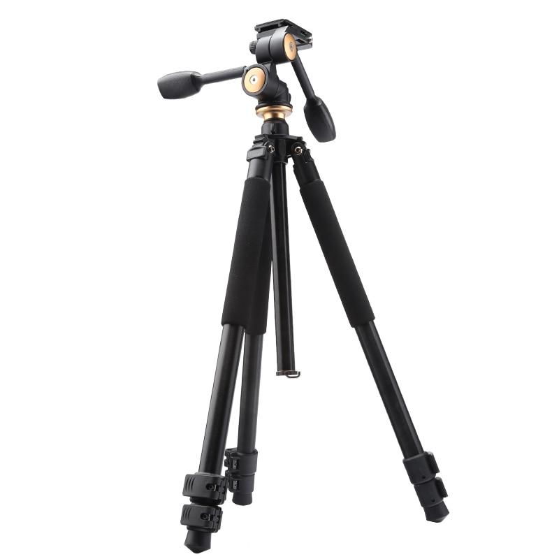 Q550 professional aluminum camera font b tripod b font stand 1720mm flip font b leg b
