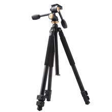 Q550 skilled aluminum digital camera tripod stand 1720mm flip leg lock digital camera stative with 360 diploma deal with head for digital dslr
