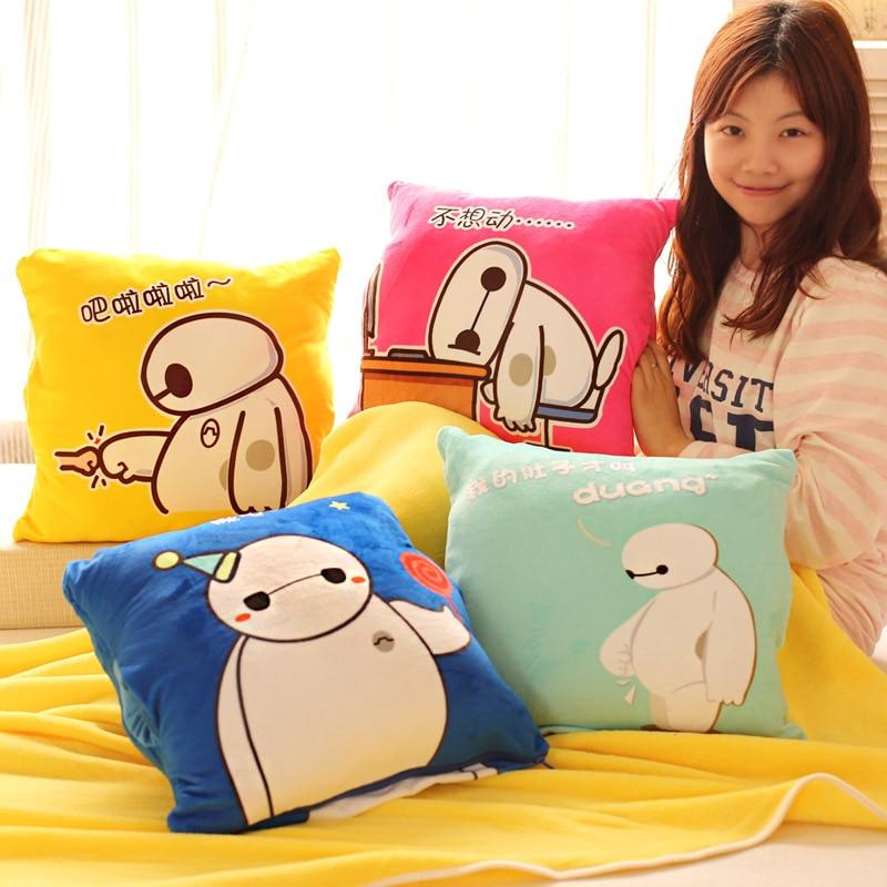 Кэндис Го! Новое поступление Baymax большой белый многоцелевой плюшевые игрушки подушке, руки теплые кондиционер одеяло подарок на день рожде...