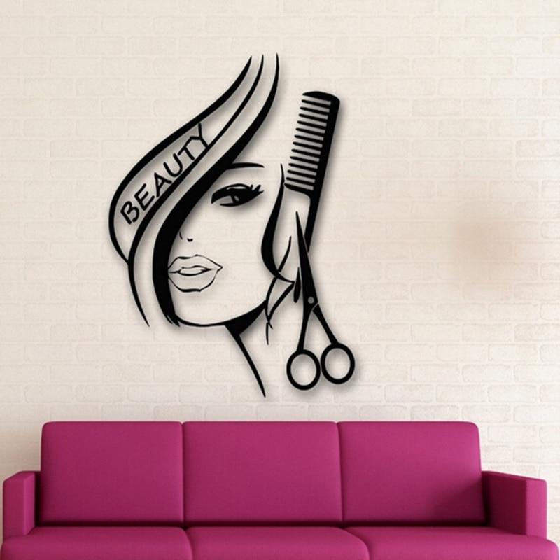 нашем рисунки для объявления парикмахерской дому она