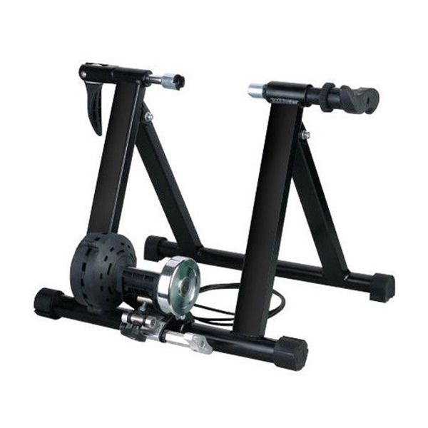 Cycle Bike Trainer Indoor Bicycle Exercise Portable Magnetic Work Out (Black)Cycle Bike Trainer Indoor Bicycle Exercise Portable Magnetic Work Out (Black)