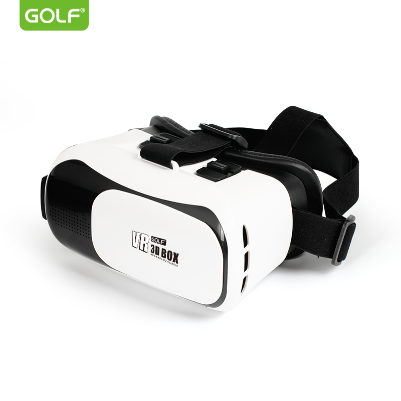 "GOLF 3D Cardboard Helmet Virtual Reality VR Glasses Headset Stereo Games Box For iPhone 4/5/6/7 Plus Mobile Phone 4.0"" to 6.0"""