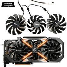 PLD10015B12H 12V 0.55A T129215BU for GIGAYTE AORUS GeForce GTX 1070 1080 Ti RTX 2060 1080Ti RTX2060 Xtreme Edition Gaming Cooler new 75mm t128010su cooler fan gigabyte aorus geforce gtx1070 1080ti g1 gtx1660 ti card cooler fans
