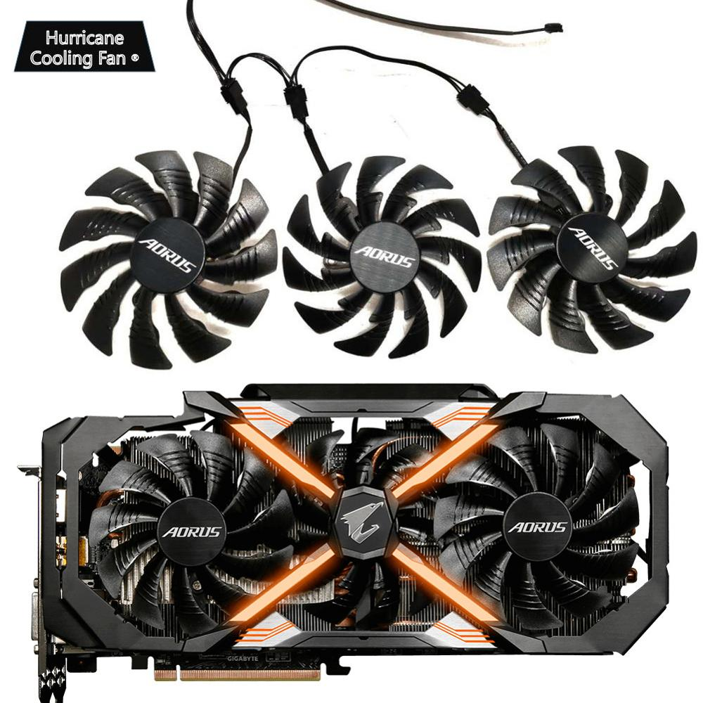PLD10015B12H 12V 0.55A T129215BU for GIGAYTE AORUS GeForce GTX 1070 1080 Ti RTX 2060 1080Ti RTX2060 Xtreme Edition Gaming Cooler image