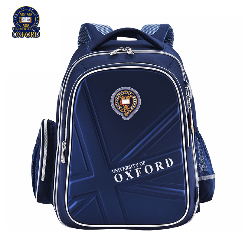 UNIVERSITY OF OXFORD cartoon children kid elementary school bag books shoulder school bag for boys girls