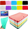 "Tab Case For SAMSUNG Galaxy Tab 3 10.1"" Tablet P5200 GT-P5210 Gel Rubber Newest Fashion Silicone Shockproof 10.1 inch Case Cover"