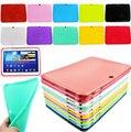 "Tab Case Para SAMSUNG Galaxy Tab 3 10.1 ""tablet p5200 gt-p5210 gel de borracha mais recente moda silicone case capa à prova de choque de 10.1 polegada"