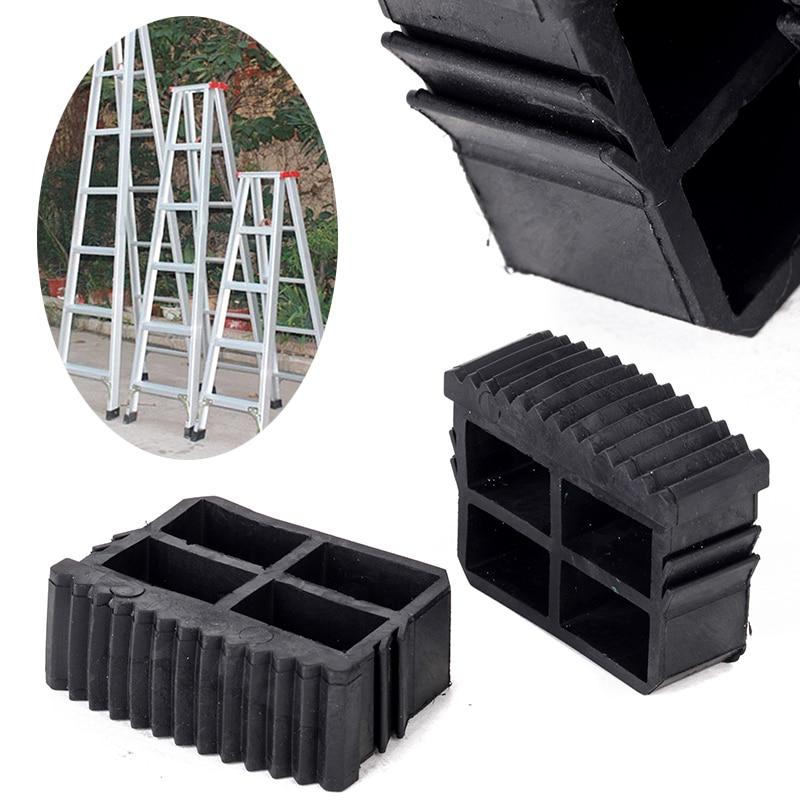 2 unidades Spares2go Universal pies de goma para caja secci/ón Step and Ladders de extensi/ón