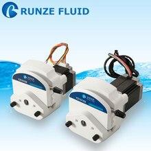 RUNZE YZ15 флип-топ перистальтический насос легкая трубка Сменные химикаты масло Вода