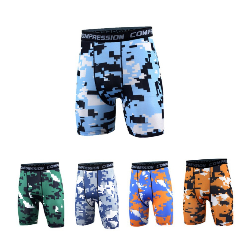 Men Running Shorts Outdoor Sports Fitness Exercise shorts Gym Soccer Basketball Football Jogging Jogger Boxer Quick Dry Shorts