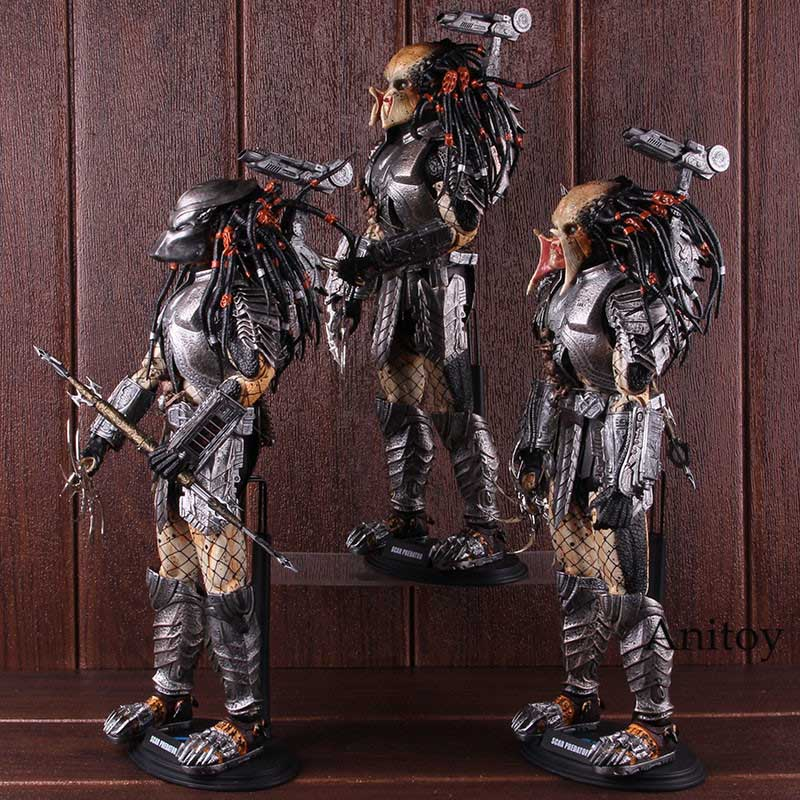 Oyuncaklar ve Hobi Ürünleri'ten Aksiyon ve Oyuncak Figürleri'de Skar Predator Alien MMS 190 1/6th ölçekli Predator Action Figure koleksiyon Model oyuncak'da  Grup 3