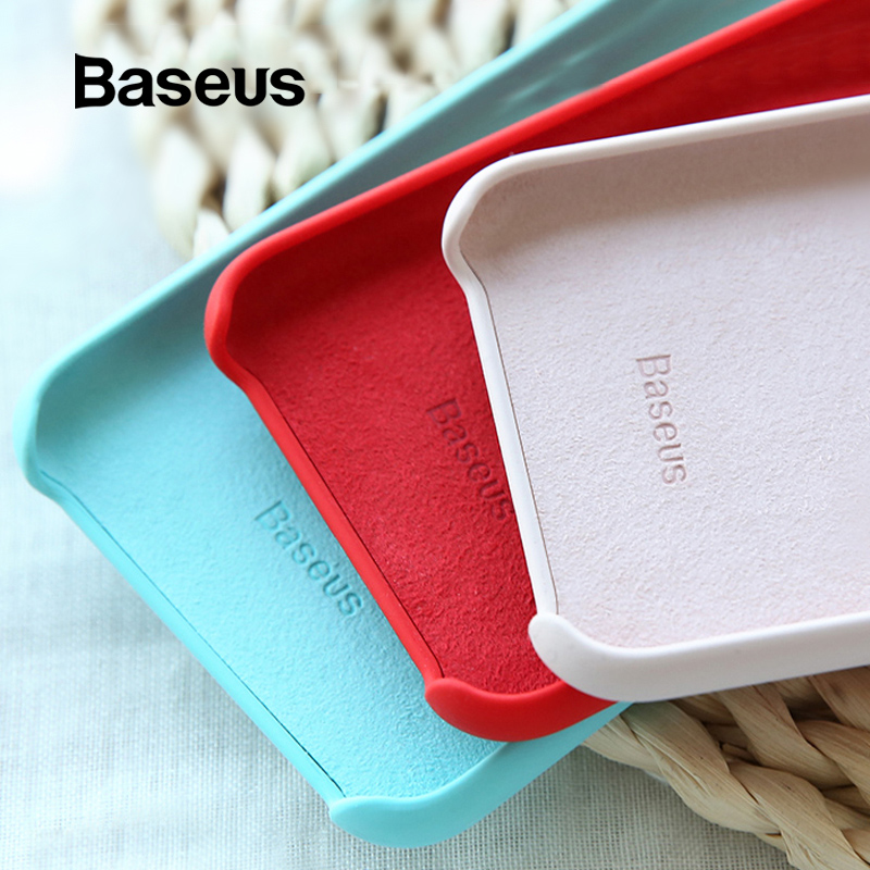 Baseus Skin-friendly Case for iPhone Xs Max Coque Comfortable Super Thin Back Cover for iPhone XR Xs Cover 6.5 inch Phone Capa MINI