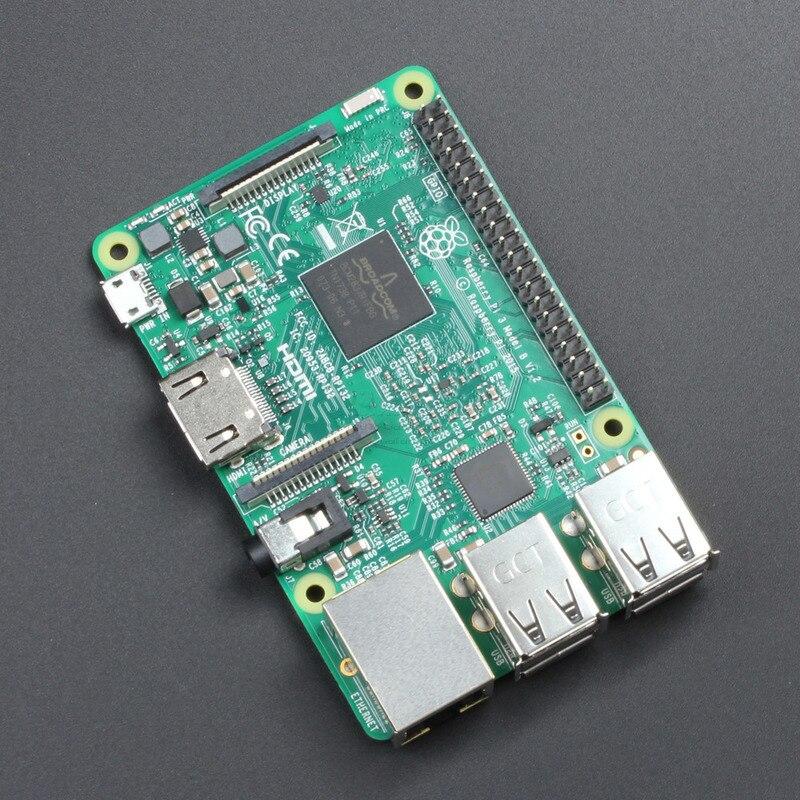 Nouveau 2018 Original Raspberry Pi 3 modèle B Plus/Pi 3 modèle B, Ras Pi3 B +/Pi3 B 1 GB RAM LPDDR2 Quad-Core avec Wifi Bluetooth - 2