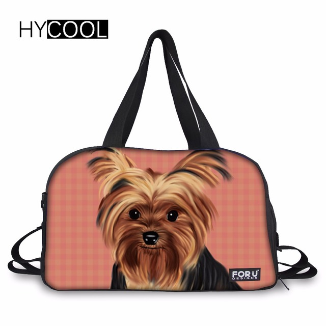 b03a91ecb078 HYCOOL Yorkie Sport Bag Training Gym Bags Woman Fitness Durable  Multifunction Handbags Outdoor Sporting Shoulder Tote For Female